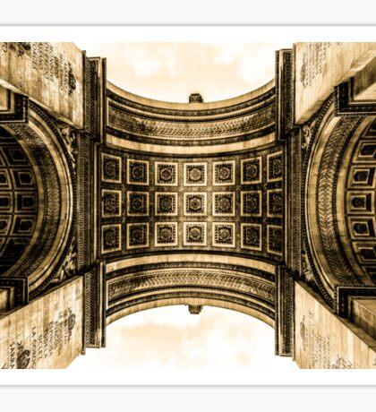 Arc De Triomphe 8 Sticker