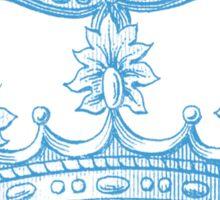 Vintage Crown Sticker