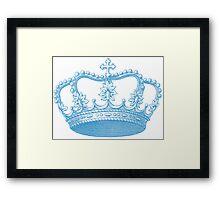 Vintage Crown Framed Print