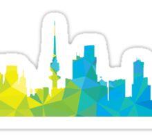 Al Kuwait skyline  Sticker