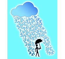Raining Cats and Dogs Photographic Print