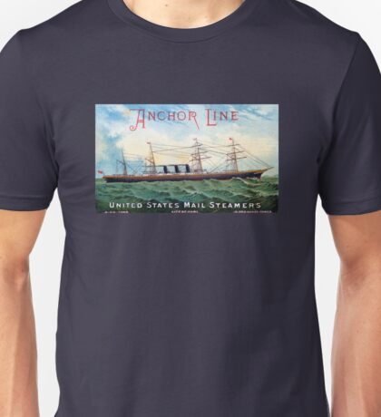 1885 Steamship City of Rome Unisex T-Shirt