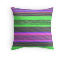 Audio Spectrum Test Tones Throw Pillow