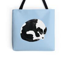 Sleeping Border Collie Painting Tote Bag