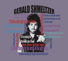 Gerald Shmeltzer Multi Quote Kids Tee