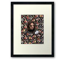 The Winter Flower Framed Print
