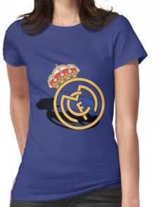 real madrid grey Womens Fitted T-Shirt