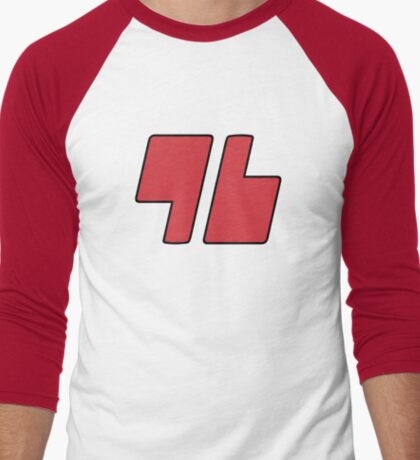 Trainer Red 96 Shirt Men's Baseball ¾ T-Shirt