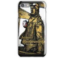 WWI German Aviation War Bond  iPhone Case/Skin