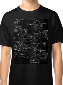 1920's Autumn Constellation Map Classic T-Shirt
