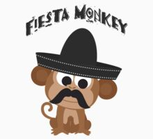 Fiesta Monkey One Piece - Short Sleeve