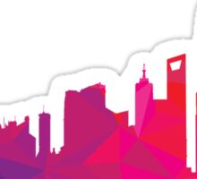 Shanghai skyline  Sticker