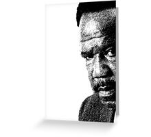 "Clay Davis ""sheeeeee-it"" 3 Greeting Card"