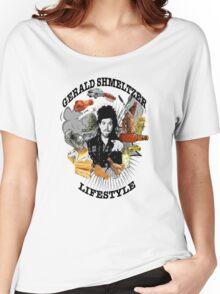 Gerald Shmeltzer Lifestyle (light shirt version) Women's Relaxed Fit T-Shirt