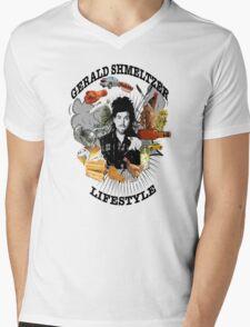 Gerald Shmeltzer Lifestyle (light shirt version) Mens V-Neck T-Shirt