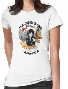 Gerald Shmeltzer Lifestyle (light shirt version) Womens Fitted T-Shirt
