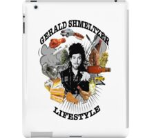 Gerald Shmeltzer Lifestyle (light shirt version) iPad Case/Skin