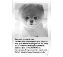 Gilligan The Worlds Cutest Puppy Poster