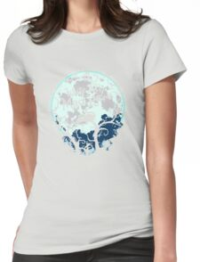 We're All Mad Here. Cheshire Cat. Alice in Wonderland. Womens Fitted T-Shirt