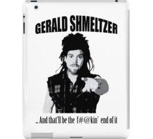 Gerald Shmeltzer iPad Case/Skin