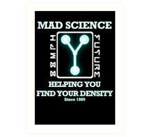 Mad Science Art Print