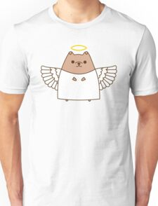 Cute Christmas Angel Pupsheen Unisex T-Shirt