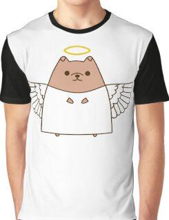 Cute Christmas Angel Pupsheen Graphic T-Shirt