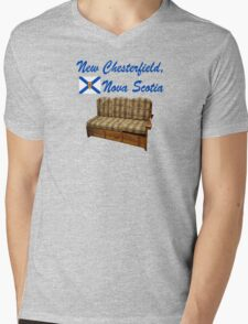 New Chesterfield Nova Scotia  Mens V-Neck T-Shirt