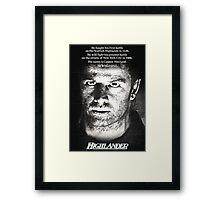 Highlander Framed Print