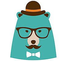 Mister Bear Photographic Print