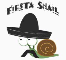 Fiesta Snail Kids Tee