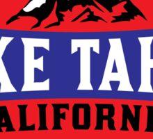LAKE TAHOE CALIFORNIA SIERRA NEVADA SKIING MOUNTAINS BOATING HIKING CLIMBING SKI 2 Sticker