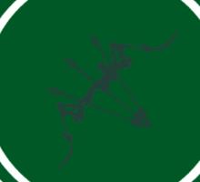 Queen's Archery Range Sticker