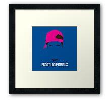 Froot Loop Dingus Framed Print