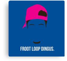 Froot Loop Dingus Canvas Print