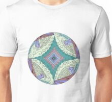 Mandala: Four Pillars Unisex T-Shirt