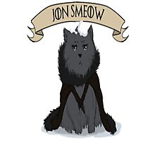 Game of Thrones - Jon Smeow Photographic Print