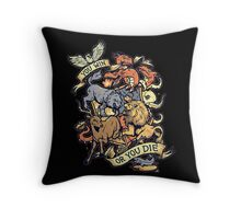 A Game of Thrones. Throw Pillow