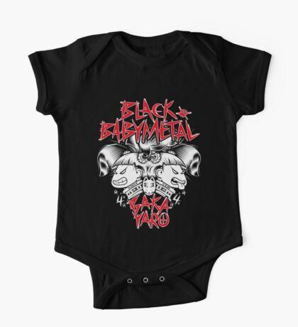 Babymetal-Black Babymetal (Unofficial) One Piece - Short Sleeve