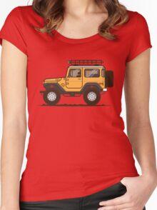 FJ 40 Cruiser  Women's Fitted Scoop T-Shirt