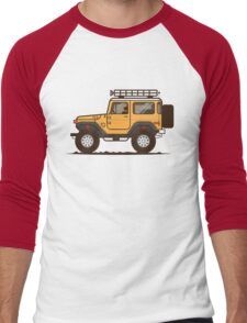 FJ 40 Cruiser  Men's Baseball ¾ T-Shirt