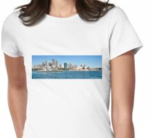 """"""" RIVER CAT """" Ferry on Sydney Harbour. Womens Fitted T-Shirt"""