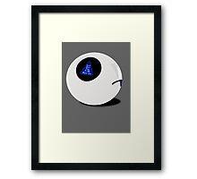 Marvin the 8-Ball Framed Print