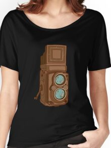 Awesome Old Time Vintage Camera - Retro Tech Women's Relaxed Fit T-Shirt