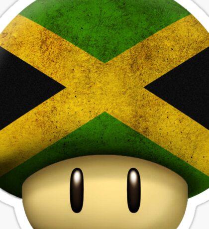 Jamaica Mario's mushroom Sticker
