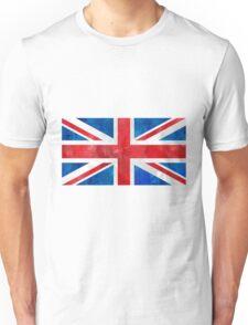 Union Jack Watercolor art Unisex T-Shirt