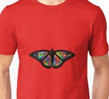 Colorful Butterfly Unisex T-Shirt