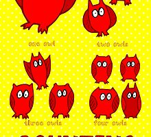 Nits ... for Kids - Counting Owls poster by aint-no-zombie