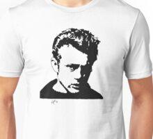 James Dean silhouette Unisex T-Shirt
