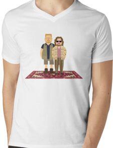 Jeffrey & Walter Mens V-Neck T-Shirt